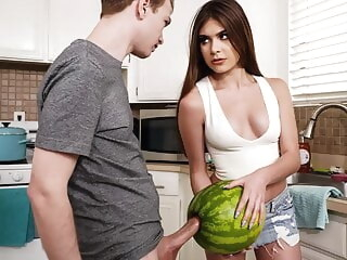 StepSister Caught Brother Masturbating With A Watermelon vlxx blowjob teen hd videos